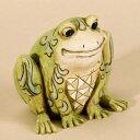送料無料 ジム・ショア ハートウッド クリーク ミニ フロッグ 小さなカエル フィギュア 置物 2-1/2 インチ Mini Frog Figurine, 2-1/2-Inch【フィギュア 置物 置物 キャラクター 人形 プレゼント クリスマス 誕生日】