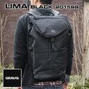 【ポイント10倍 8/21 09:59まで】 グラビス リマ ブラック GRAVIS 15SS LIMA Black (MacBook Pro13〜15インチ対応)【ギフト】【プレゼント】【あす楽対応】【デイパック】【リュック】【メンズ】【通学】【高校生】【PCバッグ】