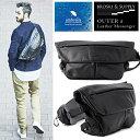【ただいまポイント10倍中! 3/15 09:59まで】 BROSKI and SUPPLY OUTER 2 Leather Messenger Bag ブロス...