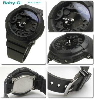 Casio CASIO baby-g neon dial series watch ladies BGA-131-1B 02P04oct13