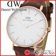ダニエルウェリントン 時計 メンズ レディース ピンクゴールド Daniel Wellington Classic St Mawes 36mm 腕時計 レザー 0507DW 02P27May16