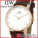 ダニエルウェリントン 時計 レディース ピンクゴールド Daniel Wellington Classy St Mawes 26mm 腕時計 レザー 0900DW 0824楽天カード分割 02P01O