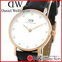 ダニエルウェリントン 時計 レディース ピンクゴールド Daniel Wellington Classy Sheffield 26mm 腕時計 レザー 0901DW