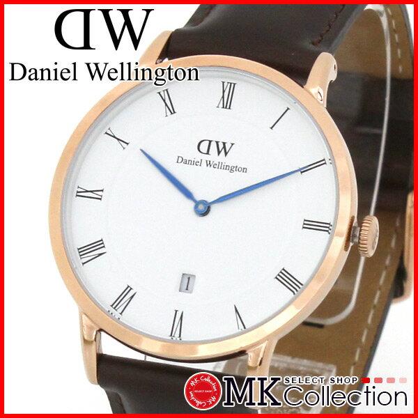 ダニエルウェリントン 腕時計 メンズ レディース ブリストル Bristol Daniel Wellington ダッパー Dapper ローズゴールド ピンクゴールド 時計 レザー 1103DW カジュアル ビジネス クラシック エレガンス フォーマル