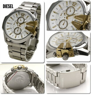 ~ 10 / 31 Diesel DIESEL watch men's chronograph DZ4265 02P04oct13