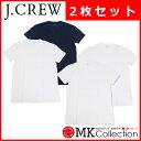 ジェイクルー Tシャツ メンズ 2枚セット J.CREW お買い得 アソート Vネック JC 【送料無料】