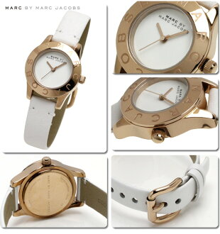 ~ 10 / 31 Marc by Marc Jacobs watches ladies ニューブレードス Mall PG / white MBM1207 02P04oct13