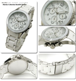 ~ 10 / 31 Marc by Marc Jacobs watches mens Womens Marin collection lock 40 chronograph MBM2545 02P04oct13