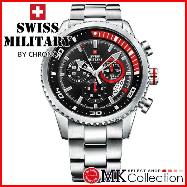 スイスミリタリー 時計 メンズ SWISS MILITARY  BY CHRONO 腕時計 おすすめ SM34042.03 sm34042-03 メンズ カジュアル スイス