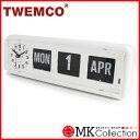 トゥエンコ 置時計 ホワイト 正規品 TWEMCO クロック インテリア 時計 オシャレ BQ-38 WHITE 0824楽天カード分割 02P01Oct16