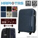 スーツケース ファスナー ハピタス