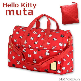 HELLO KITTY 滿足墓塔可折疊波士頓包 «H0302» Hello Kitty 電機 HAPI + TAS hapitas 中 M 圓頂