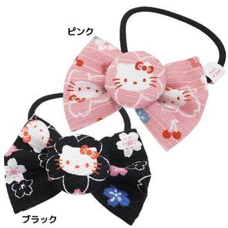 粉紅色和黑色 Hello Kitty heaakuse 三麗鷗 asunaro 大廳日本小玩意系列本來就