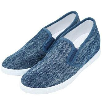 婦女的滑在她藍色牛仔拉鍊公司 23-24-24-25 釐米運動鞋鞋時尚女鞋存儲 12/16 上午 10 上午樂天卡司