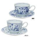【カップ&ソーサー】 藍唐草 スヌーピー ティーカップ ピーナッツ 金正陶器 ギフト雑