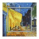 名画 ゴッホ ビッグアート S ミュージアムアートコレクション 夜のカフェテラス ユーパワー BA-05011 ギフト 額付き インテリア 取寄品 マシュマロポップ