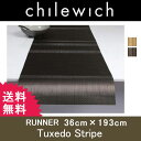 【送料無料】Tuxedo Stripe タキシードストライプ36x193cmchilewich チルウィッチ RUNNER ランナーテーブルセンター テーブルラ...