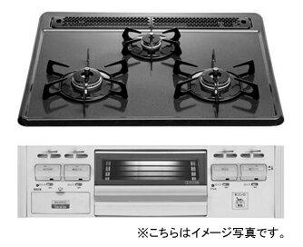 【単品販売は出来ません】TOTO システムキッチン ミッテ用オプションホーロートップ片面焼きコンロ※水なし 操作部シルバー色へ仕様変更