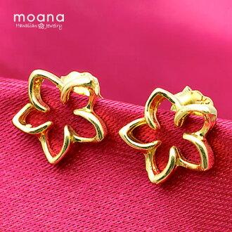 夏威夷的珠寶耳環 K14 黃金用 05P01Oct16 打開雞蛋花夏威夷首飾盒