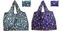 【2色セット】エコバッグ 折りたたみ 簡単 折り畳み 買い物袋 買い物バッグ 収納ショッピングバッグ 大容量 かわいい 動物図案 軽量 水や汚れにも強い (colour1)