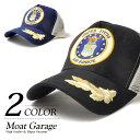 ショッピングエアフォース キャップ メンズ USAF エアフォース ミリタリー メッシュ キャップ 刺繍 ワッペン ロゴ アメカジ 30代 40代 ヒューストン HOUSTON