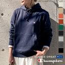 【Champion】プルオーバーフード付スウェット [C3729]【入荷済】 レディース トップス フーディ パーカー チャンピオン 体型カバー ブルオーバー ロゴ ワンポイント シンプル 無地 ゆったり カジュアル ベーシック 長袖 秋 冬 おしゃれ 春