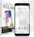 Pixel 3 透明 ガラスフィルム 【18ヶ月交換保証】 強化ガラス 保護フィ