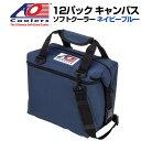 AO Coolers AOクーラーズ 12パック キャンバス ソフトクーラー PACK CANVAS ネイビーブルー 896290001335 バッグ 保冷バッグ 軽量 保冷 保温 アウトドア キャンプ 並行輸入 送料無料