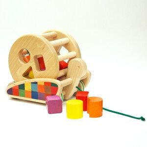 ボーネルンド カラフルプルトーイ おもちゃ