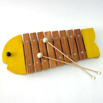 1-Year-old man: from 1-year-old xylophone BorneLund ( bornelund ) company musical instrument toys サカナシロ von yellow 1-year-old woman