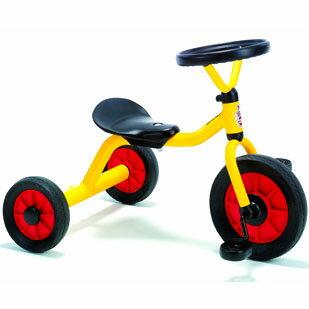 乗用玩具三輪車出産祝いボーネルンドウィンザー社ペリカン三輪車丸ハンドル黄色誕生日1歳Ykd