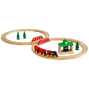 【木のおもちゃ】 ブリオ/BRIO 木製レール クラシックレール8の字セット お誕生日 3歳:男【こどもの日 初節句】【c】【】
