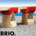 【木のおもちゃ】 ブリオ/BRIO 木製レール スーパーサポート 列車 踏切 ジオラマ アクセサリー 追加【P】