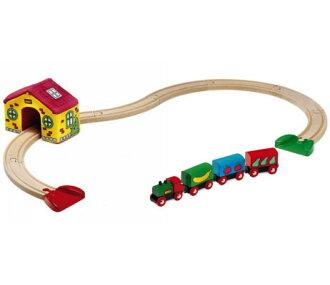 【送料無料】木のおもちゃブリオ/BRIO木製レールマイファーストBRIOセット