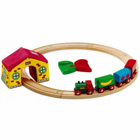 BRIO木制小火车组合
