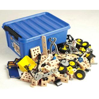 Brio /BRIO Builder set (formerly big building box 2) 284-piece (quantity limited)