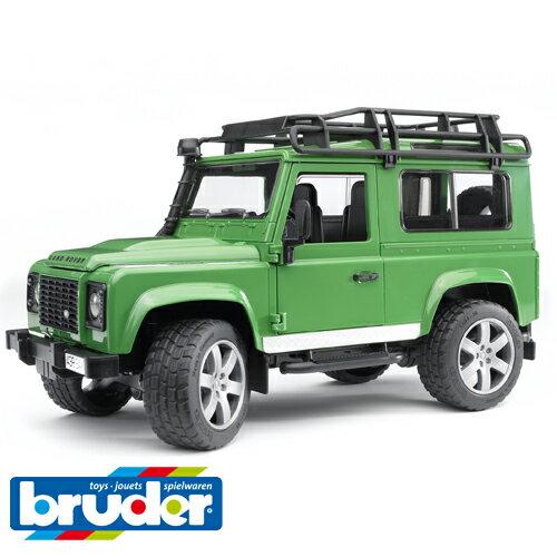砂場おもちゃ車Bruderブルーダー正規輸入品ドイツLandRover(ランドローバー)Defワゴン