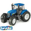Bruder ブルーダー ドイツ NH(ニューホランド) T8040 トラクター 【1/16 ミニカー】【ごっこ遊び】【c】【】