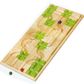 Wooden Toy エトボイラ educational toys games マザベル (rearrangement labyrinth) 3 years: 3-year-old man: woman