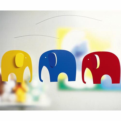 【モビール】 Flensted Mobiles(フレンステッドモビール社)Elephant…...:moc-kinoomocha:10000536