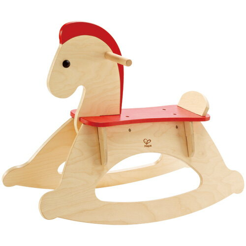 【木のおもちゃ】【木製玩具 乗用玩具 出産祝い】Hape ハペ社 木馬 ロッキングホース お誕生日 0歳【クリスマスプレゼント 子供】【c】【】