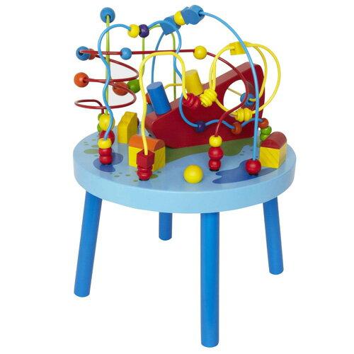 【木のおもちゃ ルーピング】 Hape ハペ社 ルーピング オーシャン アドベンチャー テーブル お誕生日 2歳【クリスマスプレゼント 子供】