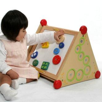【代引・送料無料】木のおもちゃI'mTOYアイムトイ知育玩具指先レッスンボックス