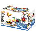 【LaQ】ブロック LaQ(ラキュー)/ヨシリツ Basic2400Colors(ベーシック2400カラーズ)2400+60pcs お誕生日 5歳:男の画像