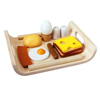 Plantoys breakfast menu cognitive education playing house 3 years old: Woman