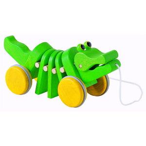 おもちゃ プルトイ ダンシングアリゲーター