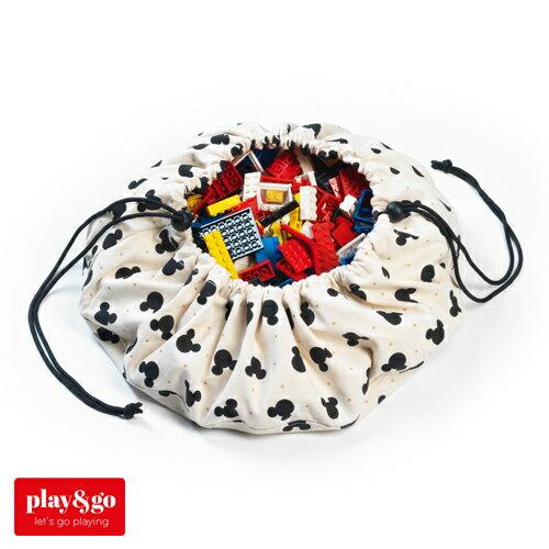 お片付けプレイマットplay&gominiプレイアンドゴーミニミッキーブラックおもちゃ箱収納袋kd