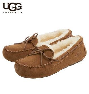 尺寸/顏色交流完全免費! UGG 軟皮鞋達科塔州南達科他州蟒蛇毛皮孩子孩子婦女婦女莫卡辛鞋靴子 AG AGU 商店 / 真正大減價