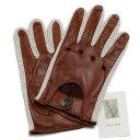 【イタリア製】MEROLA メローラ ドライビンググローブ U39(ラムナッパ/コットン) 手袋【手ぶくろ 男性用 誕生日プレゼント】**