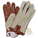 【送料無料】DENTSデンツ メッシュドライビンググローブ 5-1050 Cognac メンズ 手袋